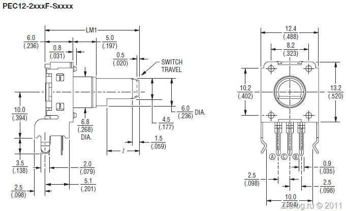 STM32 Часть 11– Подключаем энкодер